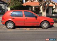 1999 Volkswagen Golf Mk4 for Sale