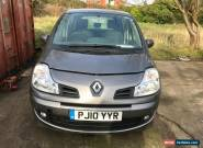 2010 RENAULT GRAND MODUS DYNAMIQUE 1.5 DCI S-A AUTO GREY SPARES OR REPAIRS  for Sale