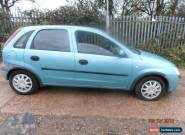 2002 VAUXHALL CORSA CLUB 12V SEMI AUTO GREEN JUST 30K MILES for Sale
