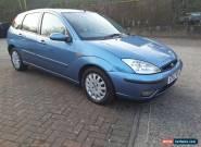 2002 52 FORD FOCUS 2.0 GHIA 5 DOOR AUTO METT BLUE for Sale