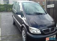 2005 VAUXHALL ZAFIRA DESIGN DTI 16V BLACK for Sale