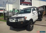 2005 Toyota Hilux KZN165R (4x4) White Manual 5sp M Cab Chassis for Sale