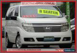 Classic 2002 Nissan Elgrand E50 White Automatic 4sp A Wagon for Sale