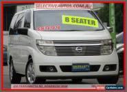 2002 Nissan Elgrand E50 White Automatic 4sp A Wagon for Sale