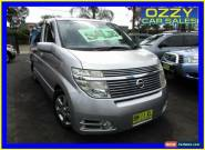 2003 Nissan Elgrand E51 Silver Automatic 5sp A Wagon for Sale