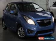 2015 Holden Barina Spark MJ MY16 CD Blue Automatic 4sp A Hatchback for Sale
