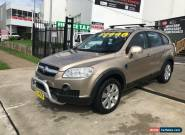 2008 Holden Captiva CG MY08 LX (4x4) Gold Automatic 5sp A Wagon for Sale