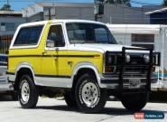 1984 Ford Bronco XLT 4X4 Wagon 351 (5.8L) V8 Auto for Sale