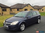 2010 VAUXHALL ASTRA ESTATE CLUB 1.6 PETROL - 80,000 miles - NAVY BLUE  for Sale