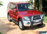 2008 Mitsubishi Pajero NS VR-X Red Automatic 5sp A Wagon for Sale