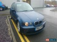 2002 BMW 320D SE BLUE MODIFIED DRIFT for Sale