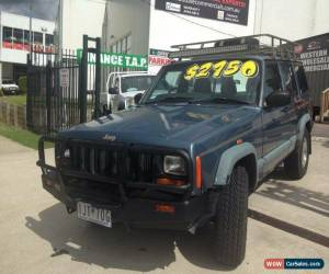 Classic 1998 Jeep Cherokee XJ Sport (4x4) Blue Automatic 4sp A Wagon for Sale
