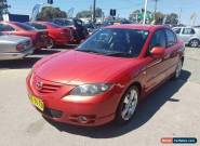 2005 Mazda 3 BK SP23 Red Manual 5sp M Sedan for Sale