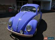 1959 Volkswagen Beetle Purple Manual 4sp M Coupe for Sale