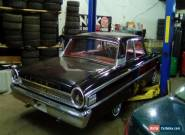 Ford: Galaxie 2 door sedan for Sale