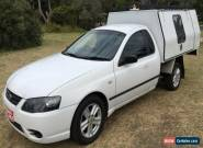 2007 Ford Falcon BF MkII XL (LPG) Tradesman Automatic 4sp A Cab Chassis for Sale