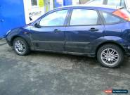 2003 FORD FOCUS LX BLUE SPARES OR REPAIR for Sale
