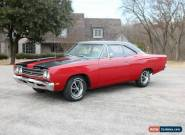 1969 Plymouth Road Runner Red Automatic 3sp A Coupe for Sale