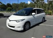 2007 Toyota Estima GSR50 Aeras S White Automatic 5sp A Wagon for Sale