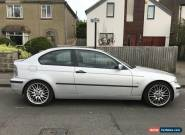 BMW 2.0 Turbo Diesel Compact, 02 Plate, Spares or Repair, Drive Away Today! for Sale