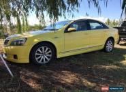 2010 Holden WM Statesman Unreg for Sale