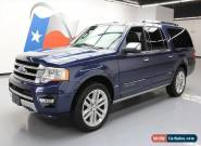 2015 Ford Expedition Platinum Sport Utility 4-Door for Sale
