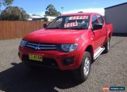 2013 MITSUBISHI TRITON GLX DUAL CAB 4WD TURBO DIESEL for Sale
