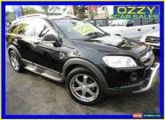 2008 Holden Captiva CG MY08 LX (4x4) Black Automatic 5sp A Wagon for Sale