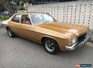 Holden HJ Kingswood 5.0 V8 Matching Numbers Car with all Books Monaro HQ HX HZ for Sale