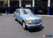 1987 Mercedes-Benz 300-Series Base Sedan 4-Door for Sale