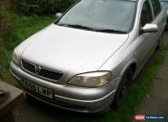 1999 VAUXHALL ASTRA 1.6 SXI 16V SILVER for Sale