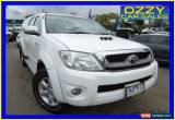 Classic 2011 Toyota Hilux KUN26R MY11 Upgrade SR5 (4x4) Glacier White Automatic 4sp A for Sale