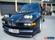 1990 BMW 8-Series MK Motor Sports for Sale