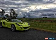 2008 LOTUS ELISE SC - FACTORY SUPERCHARGED -VERY RARE! for Sale