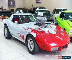 Classic 1977 Chevrolet Corvette 25TH ANNIVERSARY Stingray Silver Automatic A Coupe for Sale