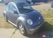 2004 VOLKSWAGEN BEETLE TURBO AUTO 3DR  DAMAGE REPAIRABLE DRIVES for Sale