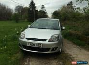 2008 FORD FIESTA ZETEC CLIMATE SILVER 16V 78bhp for Sale