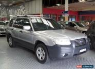 2005 Subaru Forester MY06 X Silver Automatic 4sp A Wagon for Sale