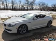 2012 BMW 6-Series Base Convertible 2-Door for Sale
