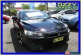 Classic 2008 Mitsubishi Lancer CJ MY09 VR-X Sportback Black Manual 5sp M Hatchback for Sale