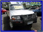 2003 Mitsubishi Pajero NP GLX LWB (4x4) Silver Manual 5sp M Wagon for Sale