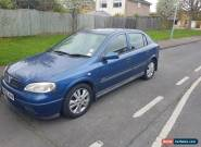 2002 VAUXHALL ASTRA SXI 16V BLUE for Sale