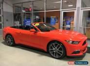 2015 Ford Mustang EcoBoost Premium Convertible 2-Door for Sale