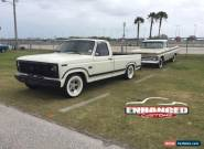 1986 Ford F-150 XLT for Sale