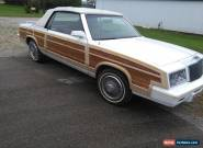 1984 Chrysler LeBaron for Sale