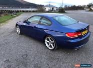 bmw 320d coupe diesel 2007 for Sale