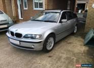 BMW 318i 2.0 (143 BHP) Touring Estate e46 Metallic Silver / Full SE Trim 2003 for Sale