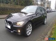 2013 BMW 320I SPORT TOURING PETROL (TWIN TURBO) BLACK LEATHERS DEALER HISTORY  for Sale