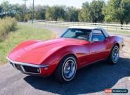 1968 Chevrolet Corvette C3 MY1968 Stingray Red Convertible for Sale