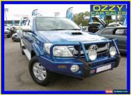 2009 Toyota Hilux KUN26R 08 Upgrade SR5 (4x4) Blue Automatic 4sp A for Sale